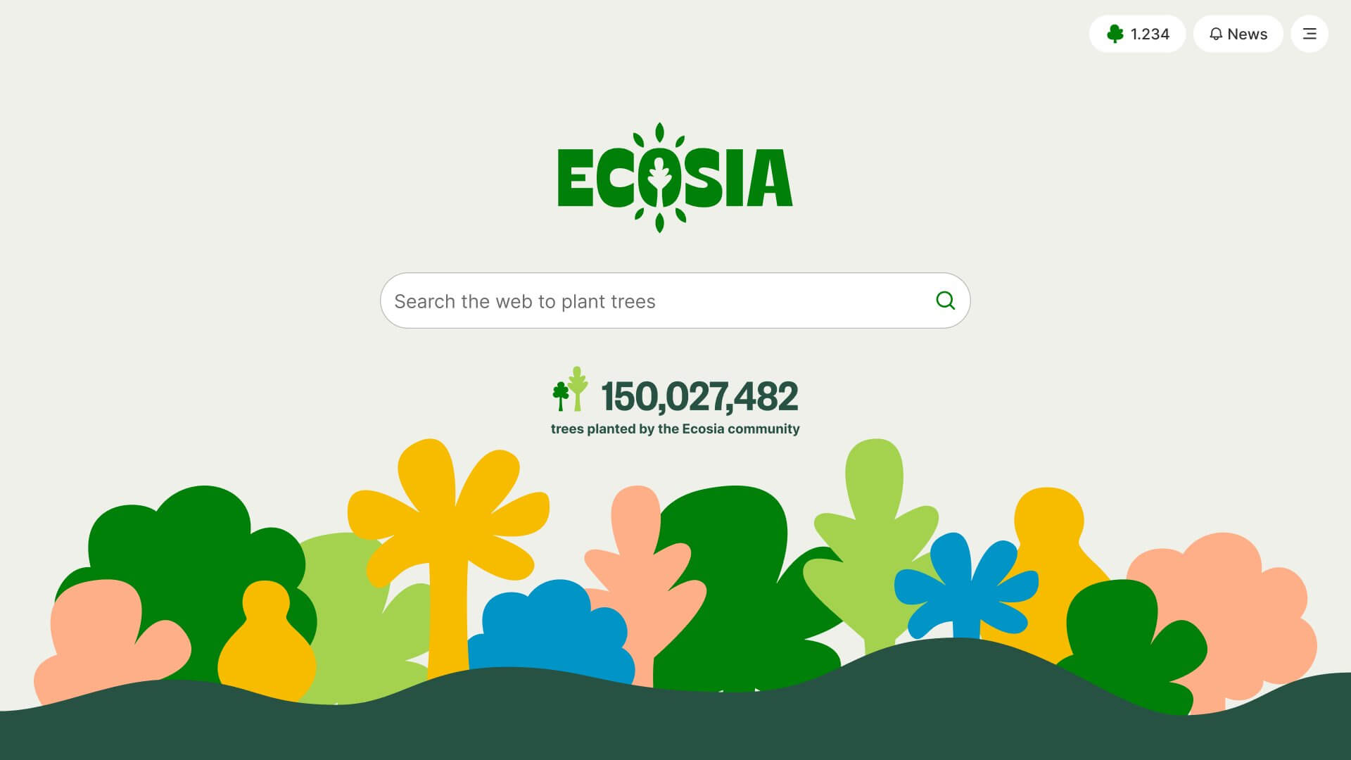 Ecosia – Le moteur de recherche qui plante des arbres